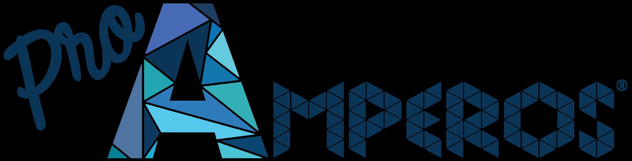 Logotipo principal recortado de Pro Amperos